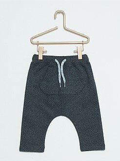 Pantalones, vaqueros, calzoncillos - Pantalón sarouel efecto franela