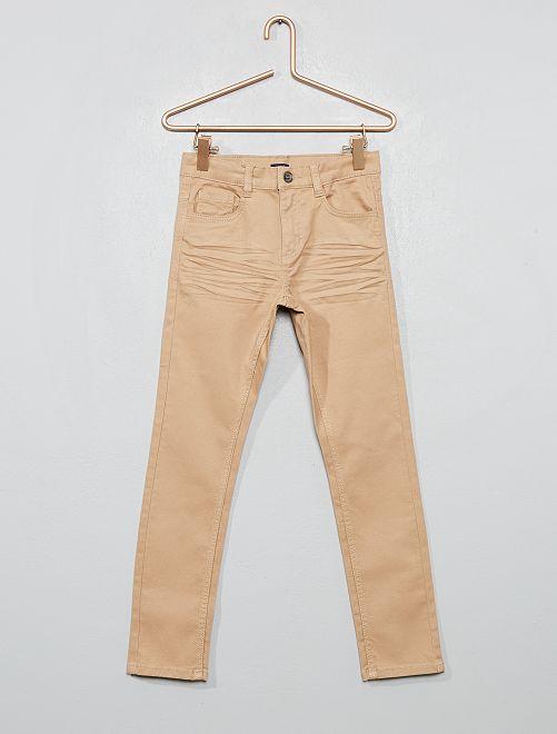 Pantalón skinny con cinco bolsillos                                                                                                                                                                 BEIGE