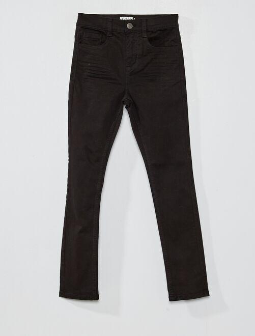 Pantalón skinny con cinco bolsillos                                                                                                                                             NEGRO