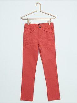 Niño 3-12 años Pantalón skinny con cinco bolsillos