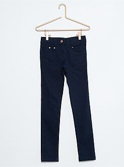 Pantalón skinny de algodón elástico