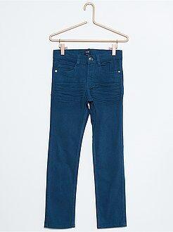 Pantalón skinny de sarga elástico