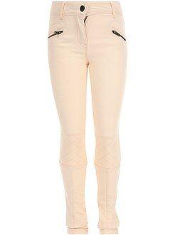 Pantalón skinny de sarga