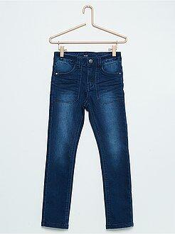 Pantalón skinny fit de algodón elástico