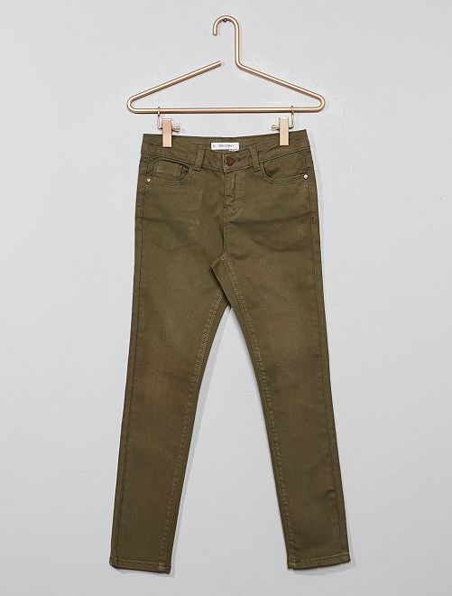 Pantalón skinny vaquero                                                                                                     KAKI