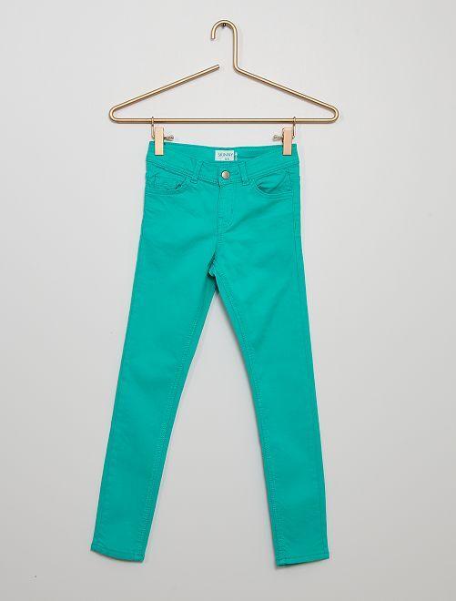 Pantalón skinny                                                                                                                                                                                                     VERDE