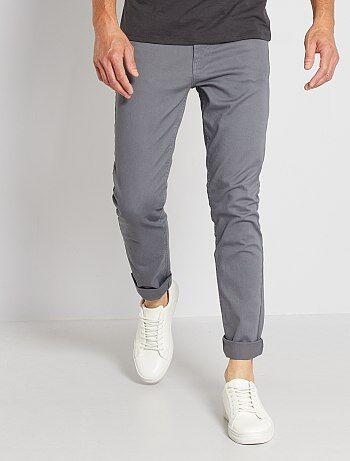 HombreGris Pantalones Pantalones HombreGris Kiabi Pantalones Kiabi 5Rq34jLA