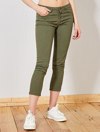 aa064070ad pantalones pitillos mujer - moda Mujer talla 34 a 48