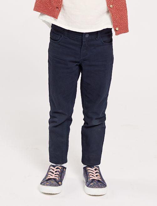 Pantalón slim                                                                     azul Chica