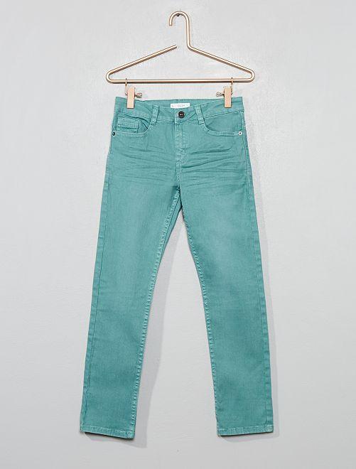 Pantalón slim                                                                                                                                         azul Chico