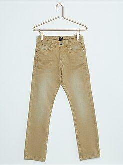Niño 3-12 años Pantalón slim