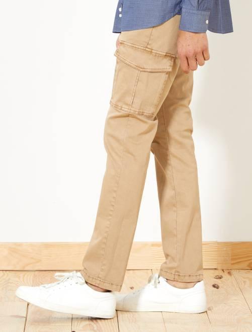 ffd0041315 Pantalón slim con bolsillos cargo Hombre - Kiabi - 20