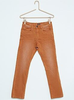 Pantalón slim de algodón