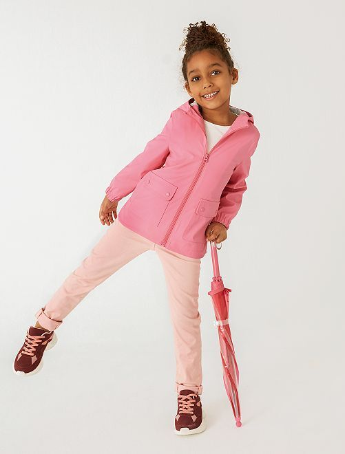 Pantalón slim de color                                                                                                                             ROSA
