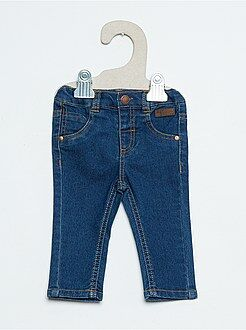 Pantalones - Pantalón slim efecto vaquero