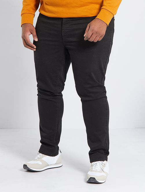 Pantalón slim L30                                                                                         negro