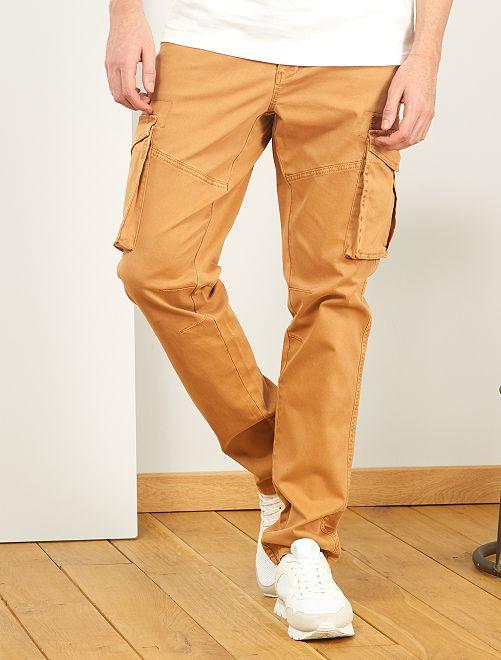 Pantalón tipo cargo L36 +1,90 m                                         BEIGE