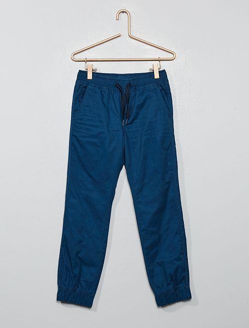 Pantalón tipo jogger                                                                             AZUL
