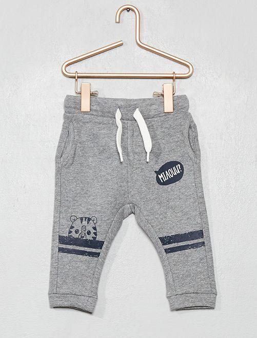 Pantalón tipo sarouel                                                                                         GRIS