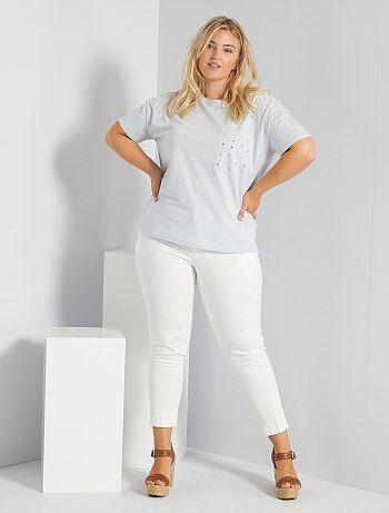 Pantalones De Vestir Tallas Grandes Mujer Talla 56 Kiabi
