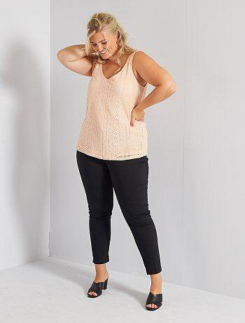 Pantalones De Vestir Tallas Grandes Mujer Talla 52 Kiabi