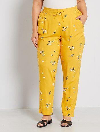 Pantalones Anchos Tallas Grandes Mujer Talla 4xl Kiabi