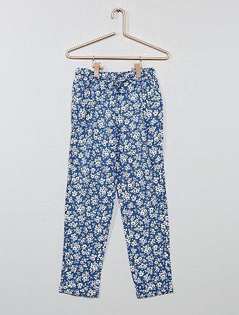15a67fd3bf0 Niña 3-12 años - Pantalón vaporoso estampado - Kiabi
