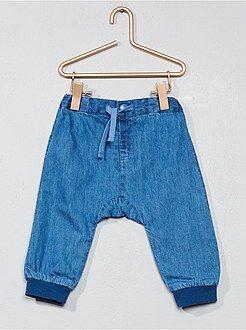 Pantalones - Pantalón vaquero forrado - Kiabi