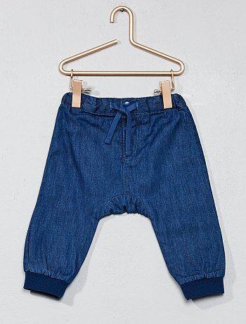 Pantalón vaquero forrado - Kiabi