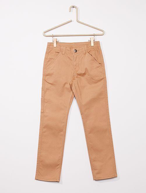 Pantalón 'workwear' regular                             BEIGE