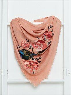 Mujer - Pañuelo cuadrado vaporoso - Kiabi