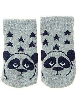 Niña 0-24 meses Par de calcetines antideslizantes