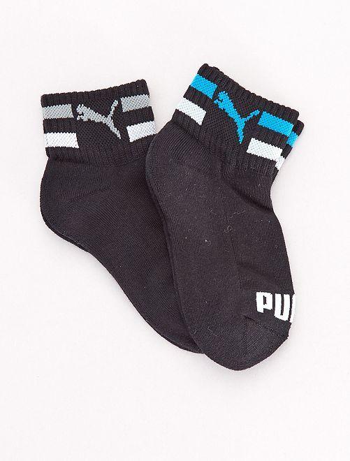 Par de calcetines bajos 'Puma'                                         NEGRO