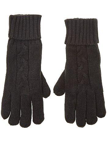 Mujer talla 34 to 48 - Par de guantes con forro polar - Kiabi