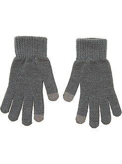 Hombre - Par de guantes táctiles - Kiabi