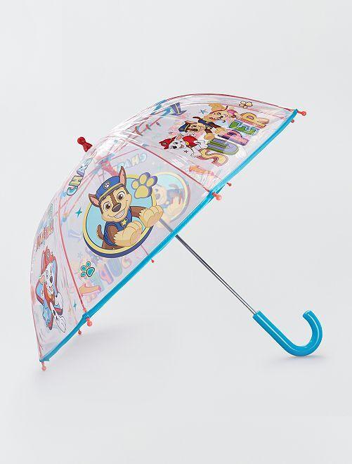 Paraguas de plástico transparente 'La Patrulla Canina'                             BEIGE
