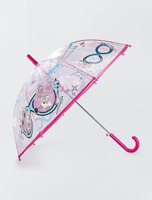 Paraguas de plástico transparente 'L.O.L. Surprise !'                             BEIGE