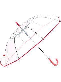 Paraguas grande transparente
