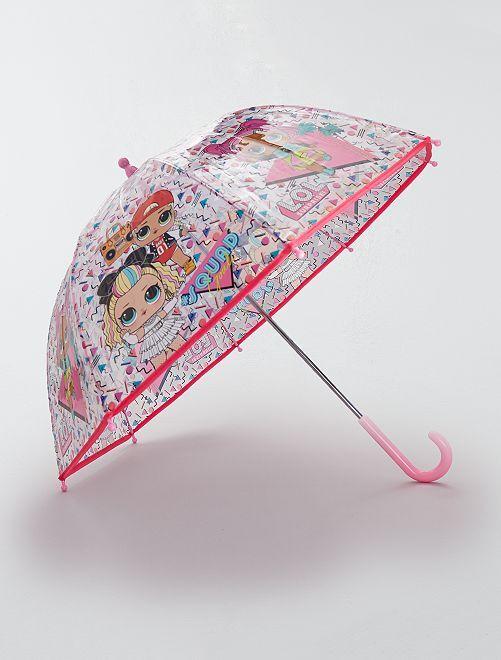 Paraguas 'LOL Surprise'                             transparente