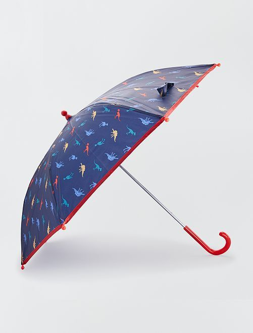 Paraguas manual 'dinosaurio'                             AZUL