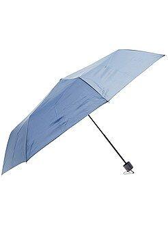 Mujer Paraguas plegable azul marino
