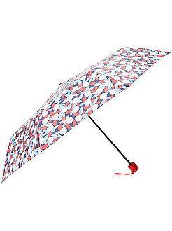 Accesorios - Paraguas plegable azul marino - Kiabi