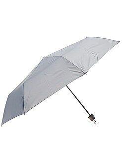 Mujer Paraguas plegable gris
