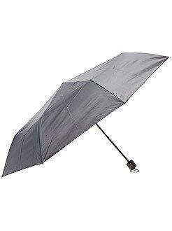 Mujer Paraguas plegable negro
