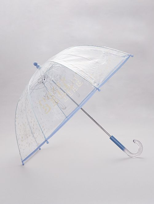 Paraguas transparente 'Campanilla'                             ROSA