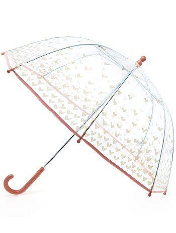 Paraguas transparente con estampado de fantasía - Kiabi