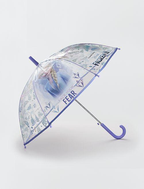 Paraguas transparente 'Frozen' de 'Disney'                             violeta