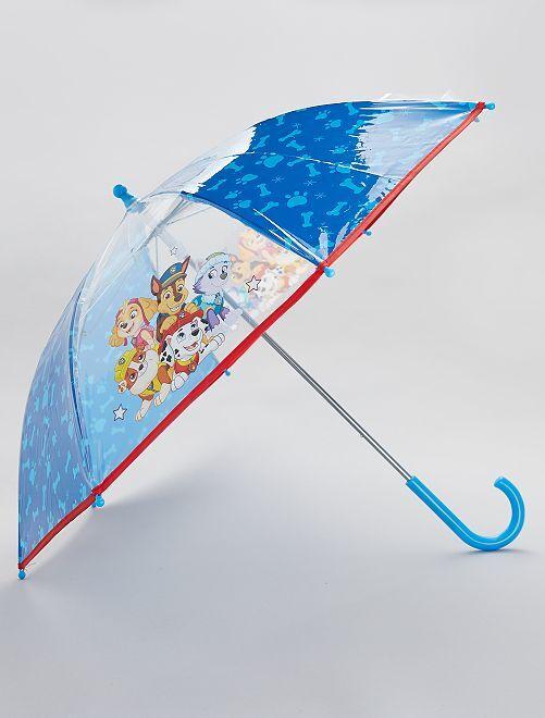 Paraguas transparente 'La Patrulla Canina'                             azul