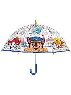 Paraguas transparente 'La patrulla canina'