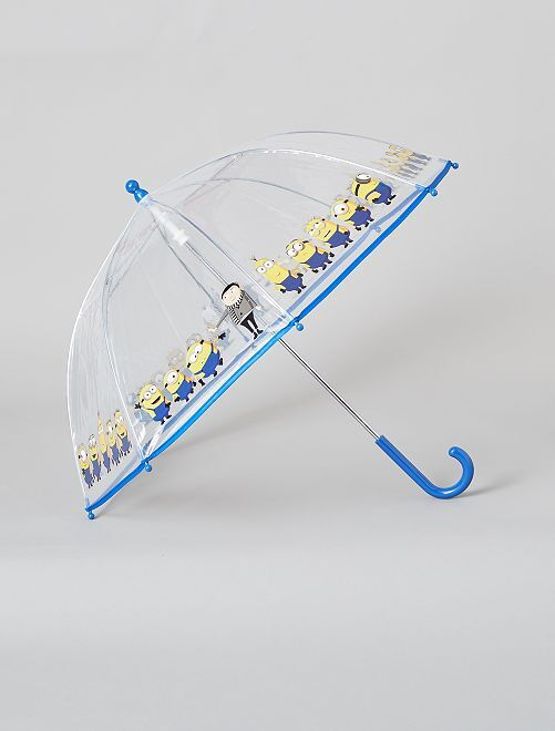 Paraguas transparente 'Minions'                             BLANCO